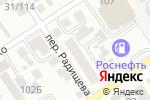 Схема проезда до компании Фрегат в Барнауле