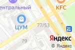 Схема проезда до компании Почта Банк, ПАО в Барнауле