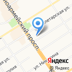 ПОЗИЦИЯ на карте Барнаула