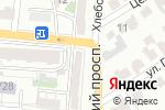 Схема проезда до компании Есть что съесть в Барнауле