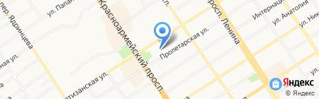 Арена С на карте Барнаула