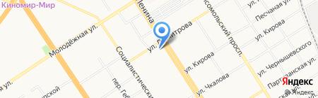 Аэроклуб Алтай Авиа на карте Барнаула