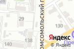 Схема проезда до компании Перекресток в Барнауле