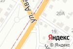 Схема проезда до компании Авторитет Сервис в Барнауле