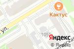 Схема проезда до компании Бриолин в Барнауле