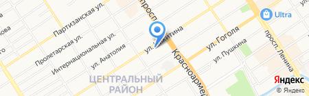 ЭКОпроект на карте Барнаула