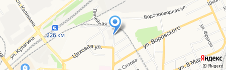 Бест Гард на карте Барнаула