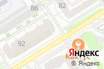 Схема проезда до компании Вистара в Барнауле