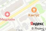 Схема проезда до компании Робинзон в Барнауле