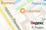 Схема проезда до компании Ткани от Яниных в Барнауле