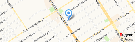 Реал-Алтай+ на карте Барнаула