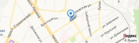 Мастерская по изготовлению ключей и ремонту одежды на карте Барнаула