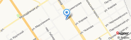 Алмаз-Ломбард на карте Барнаула