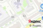 Схема проезда до компании Ain`A в Барнауле