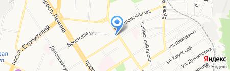 Нотариус Гавло Ю.В. на карте Барнаула