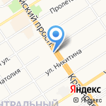 ГУИК на карте Барнаула