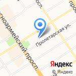Автодом на карте Барнаула