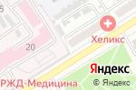 Схема проезда до компании ИЮНЬ в Барнауле