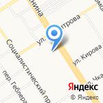Новый квартал на карте Барнаула