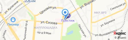Хелми на карте Барнаула