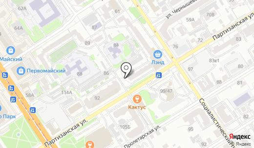 Vivasan. Схема проезда в Барнауле