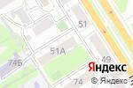 Схема проезда до компании Смена в Барнауле
