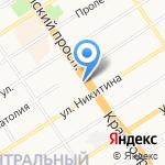 Каспий на карте Барнаула