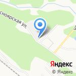 Саламандер на карте Барнаула