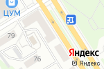 Схема проезда до компании Авианебо в Барнауле