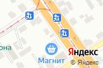 Схема проезда до компании Каспий в Барнауле