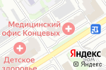 Схема проезда до компании Канцлер в Барнауле