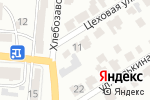 Схема проезда до компании Старый замок в Барнауле