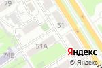 Схема проезда до компании Icon Cloud в Барнауле
