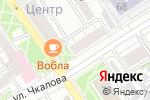 Схема проезда до компании Фокус в Барнауле