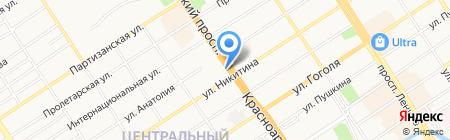 СКС на карте Барнаула