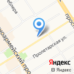 Агентство Канцлер на карте Барнаула