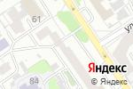 Схема проезда до компании Офис портал в Барнауле
