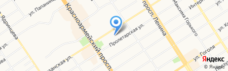 Учебно-информационный центр при Управлении ФНС по Алтайскому краю на карте Барнаула
