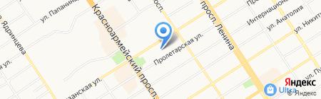 DHL на карте Барнаула