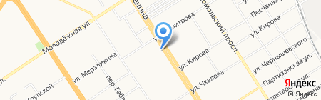 СибЦветТорг на карте Барнаула