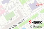 Схема проезда до компании Радуга звуков в Барнауле