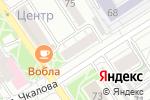 Схема проезда до компании Альянс трейд в Барнауле