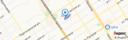 Благонадежный Поставщик на карте Барнаула