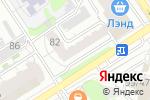 Схема проезда до компании Шоколадно 22 в Барнауле