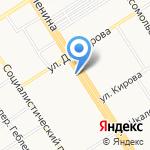 Lenovo на карте Барнаула