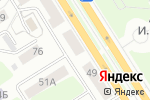 Схема проезда до компании СибЦветТорг в Барнауле