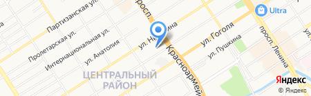 Трофей сеть магазинов товаров для рыбалки охоты на карте Барнаула