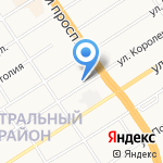 Хаундс на карте Барнаула