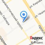 Альянс трейд на карте Барнаула