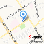 ИЮНЬ на карте Барнаула
